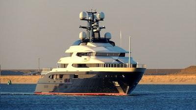 TRANQUILITY видео чартера роскошных яхт