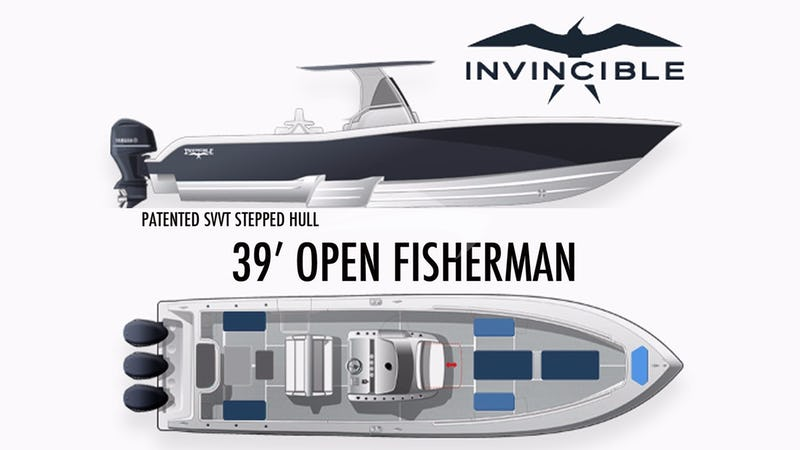 GOOD TIMES :: 39' Invincible tender
