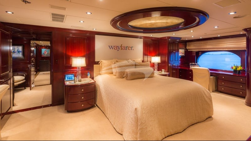 LADY JOY :: Master Stateroom, main deck, forward