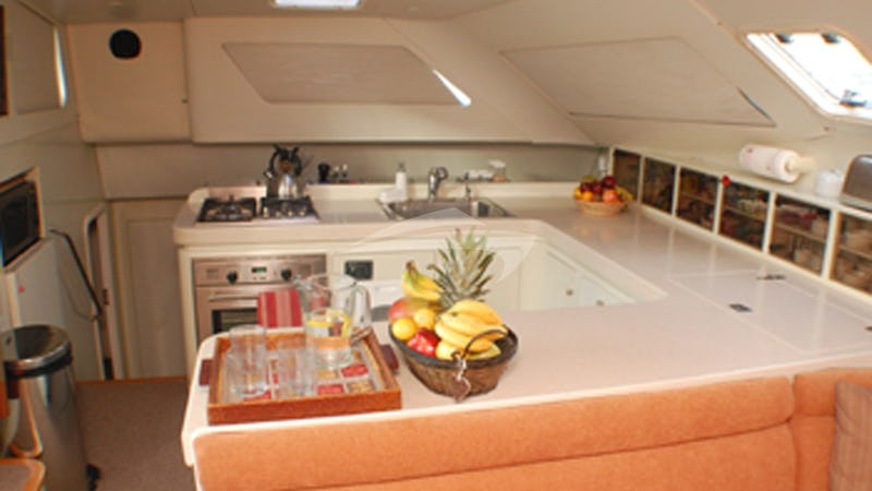 SWISH :: Galley (kitchen) area