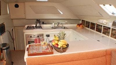 Galley (kitchen) area