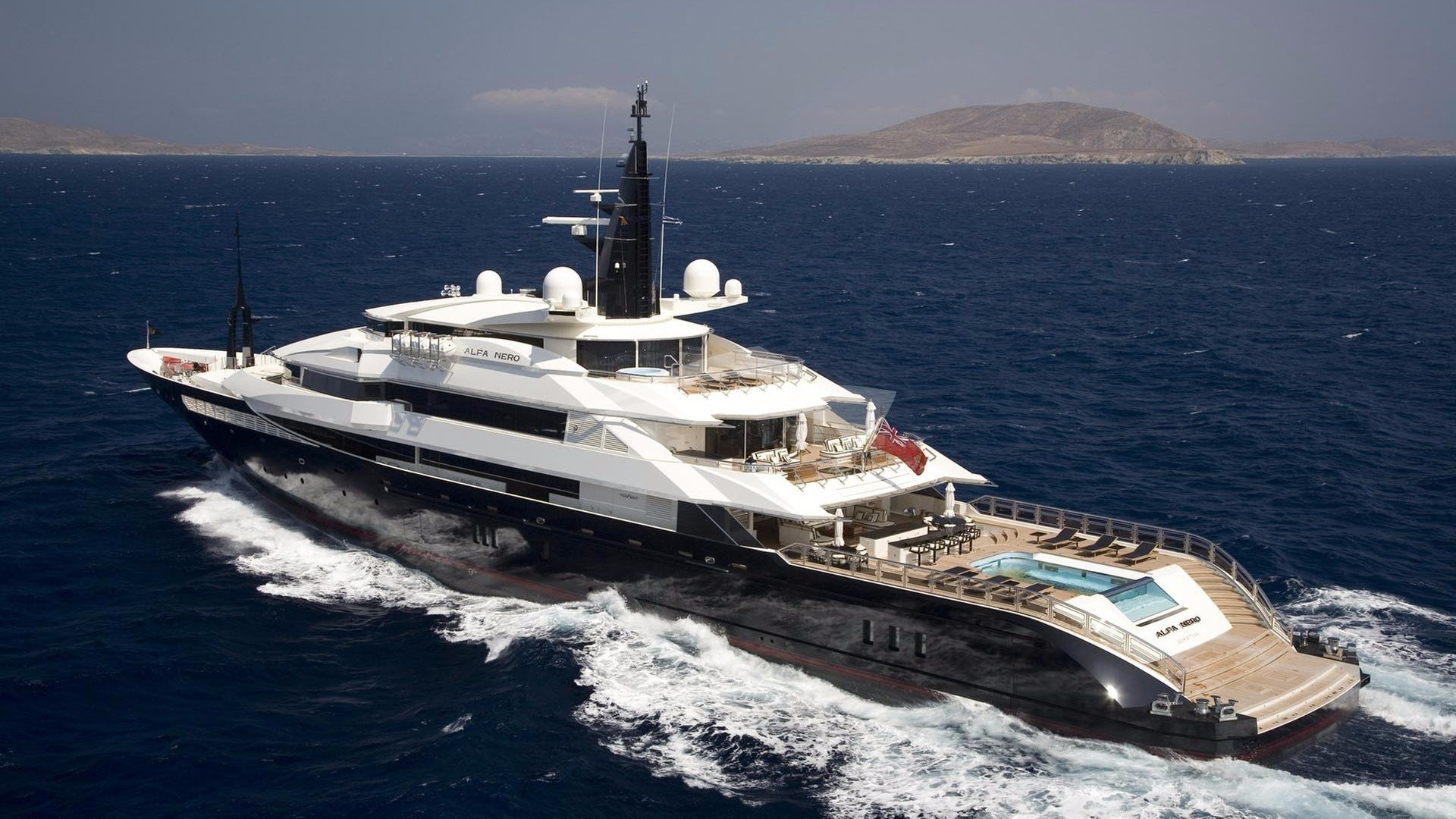 Yacht ALFA NERO Charter Yacht
