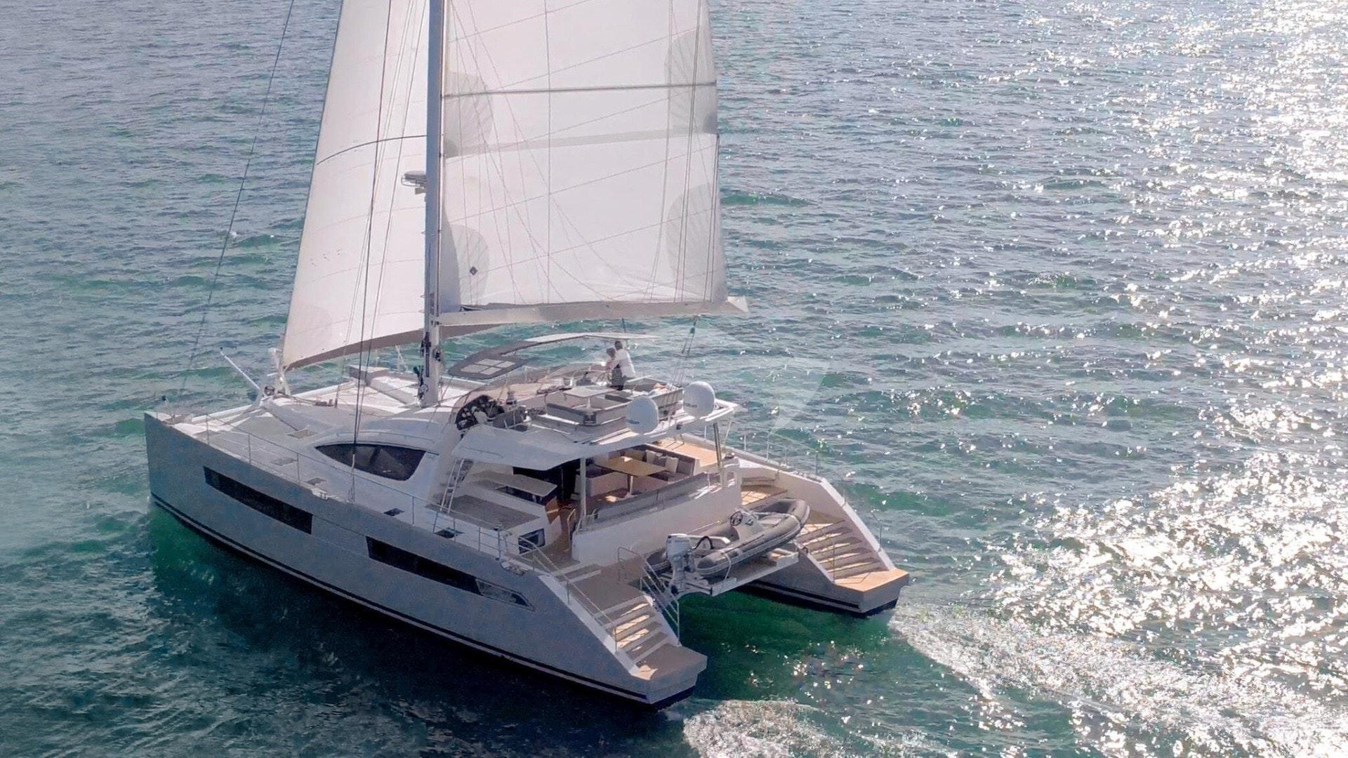 Segundo Viento under sail