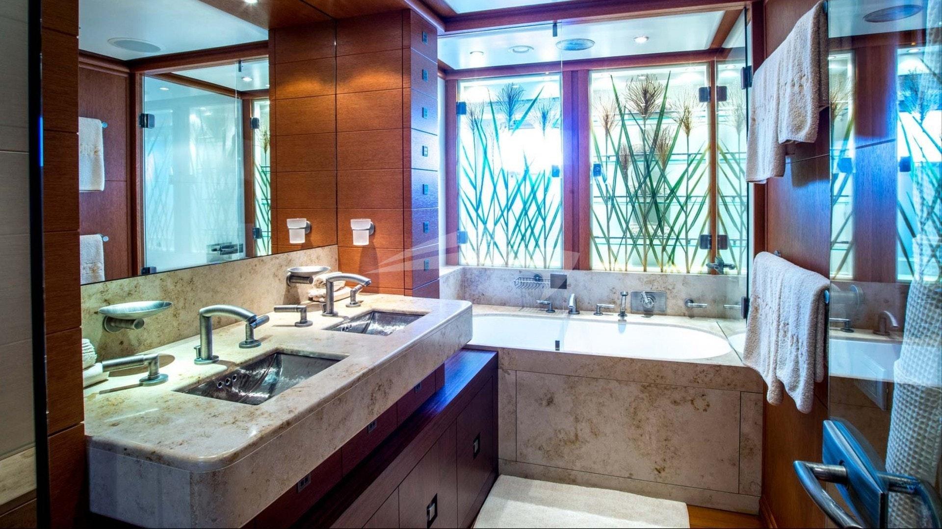 Salle de bain double