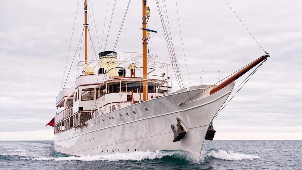 Yacht HAIDA 1929 Charter Yacht