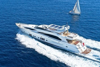 Luxury charter yacht ARION