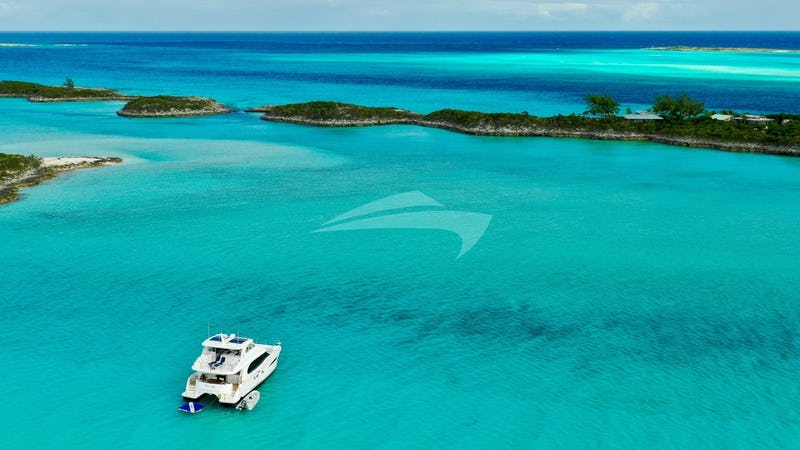 ETERNITY :: At anchor in the Bahamas