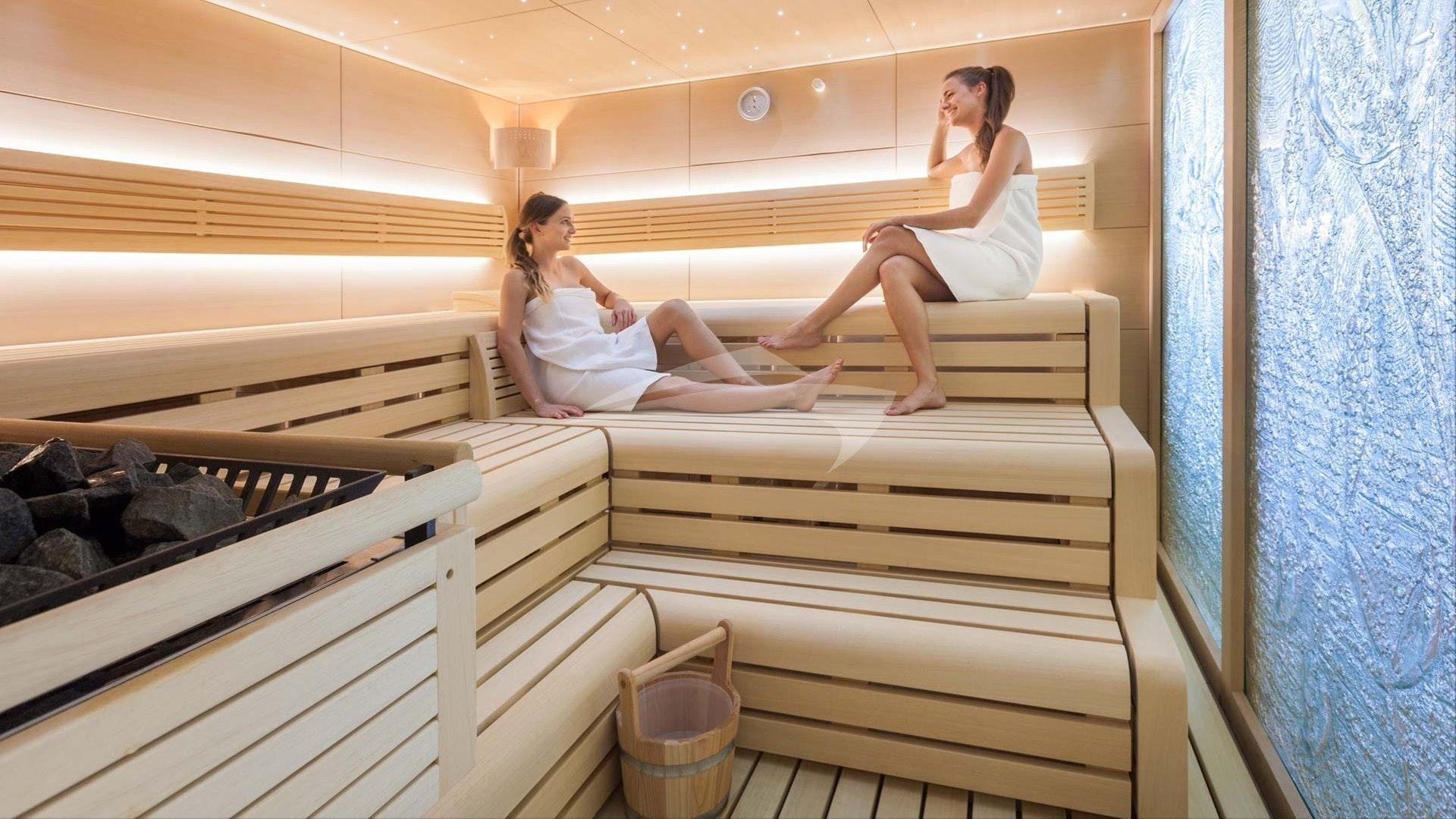 Sauna de spa