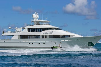 Luxury charter yacht ANTARES