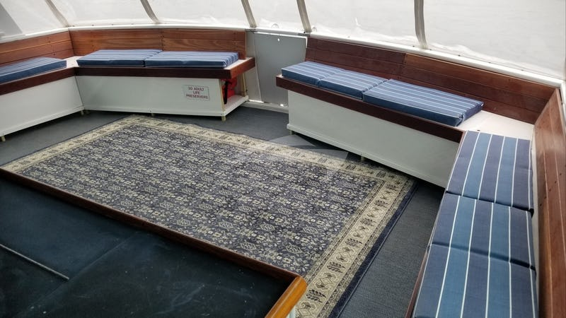 Aft Deck Wrap Around Seating