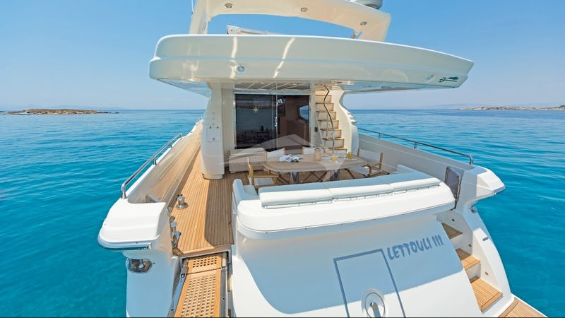 LETTOULI III :: Aft Deck Dining
