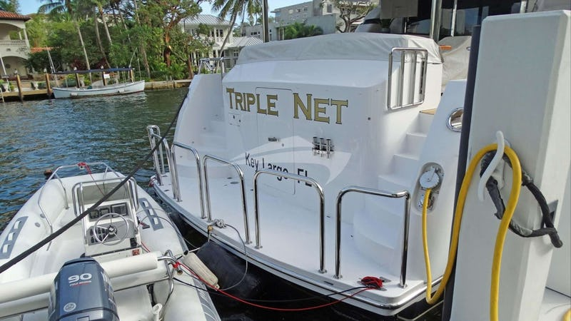 TRIPLE NET :: View of Aft
