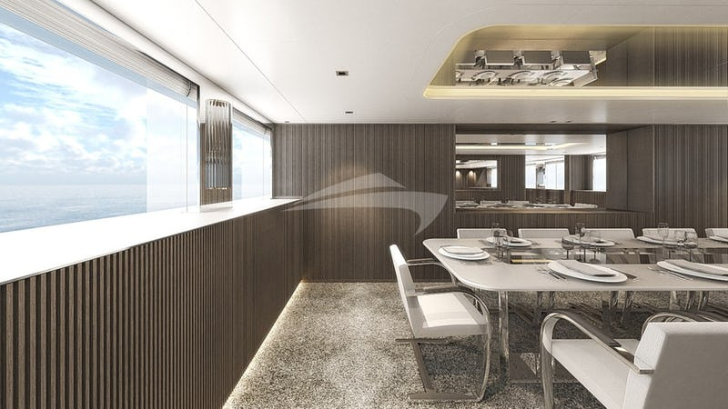 CLOUD ATLAS :: Dining Zone- Render Photo