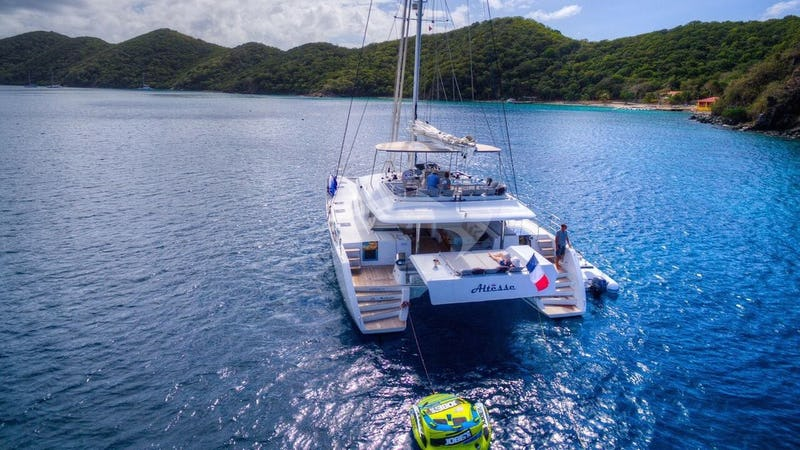 ALTESSE :: ALTESSE's stern - easy access to the water