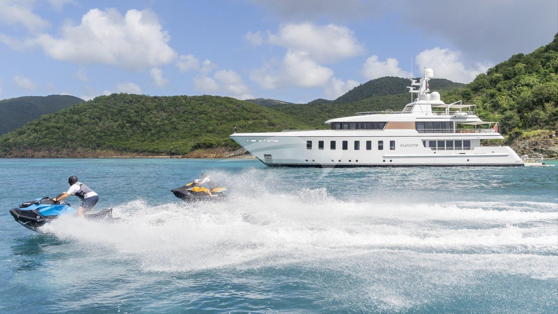 Yacht GLADIATOR Charter Yacht