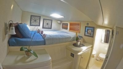 Starboard Forward Guest Cabin