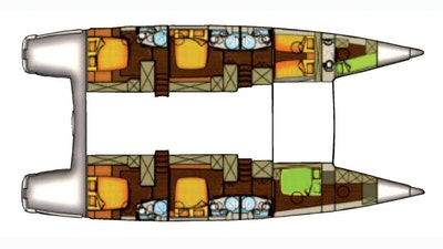 Cabins layout