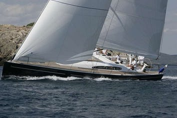 60ft Yacht BLUE OYSTER