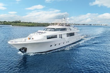 Luxury charter yacht OUR HERITAGE