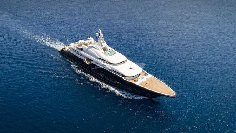 NIRVANA Power yacht