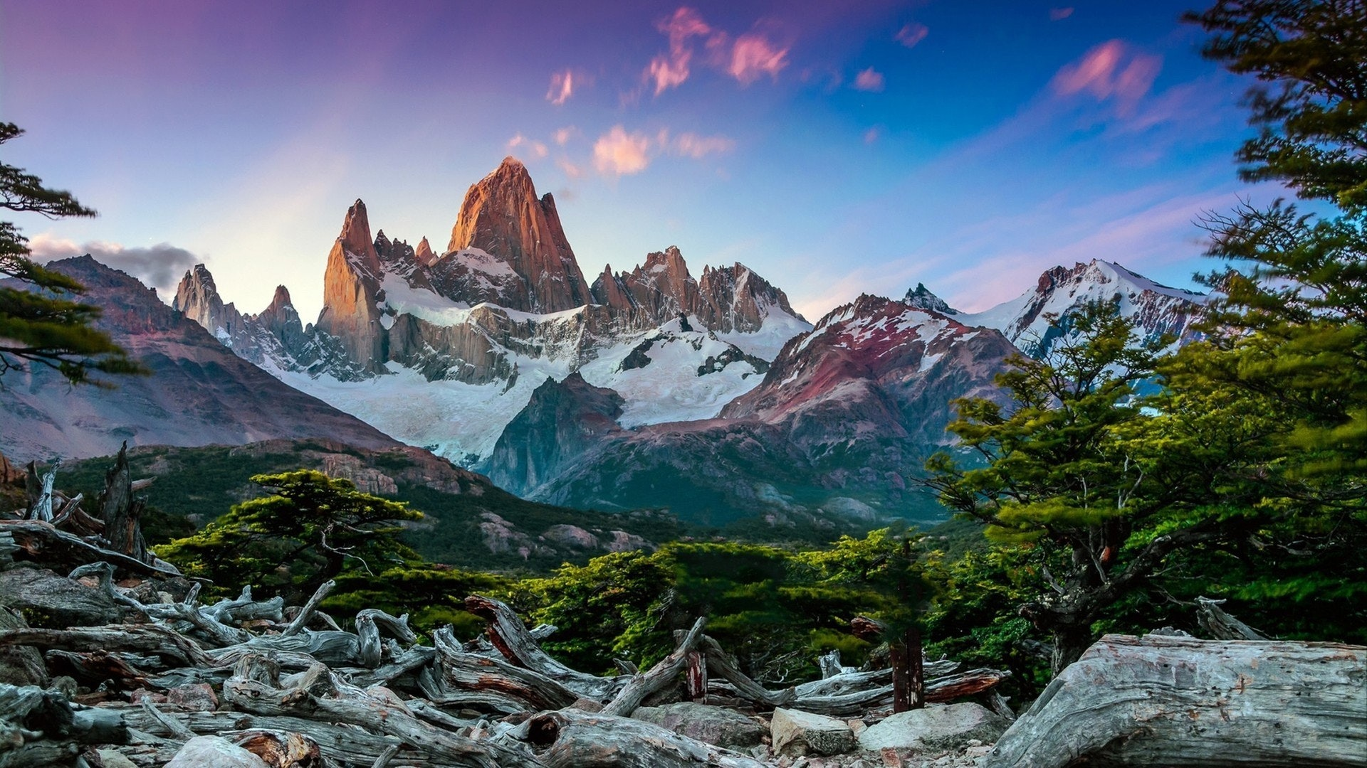 Fitz Roy mountain near El Chalten, in the Southern Patagonia