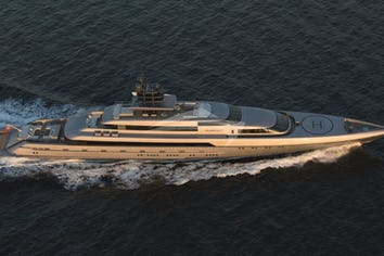 252ft Yacht SILVER FAST