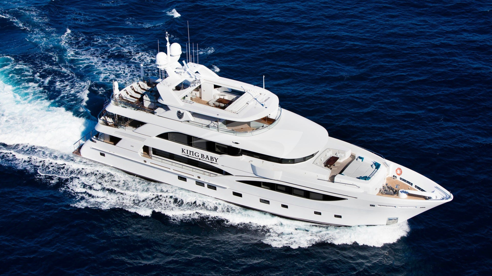 Yacht KING BABY Charter Yacht