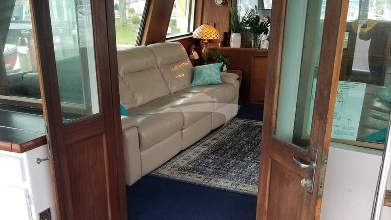 Aft Deck Entering Salon