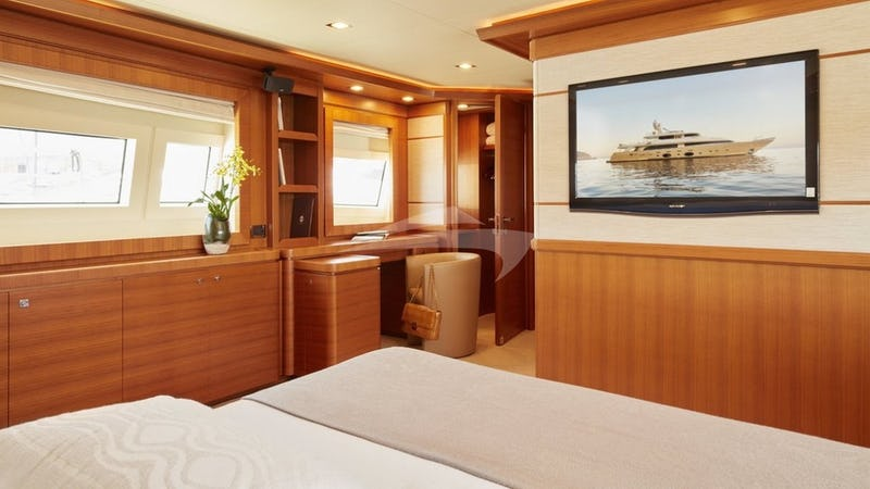 BEST OFF :: Master Stateroom with TV and Office
