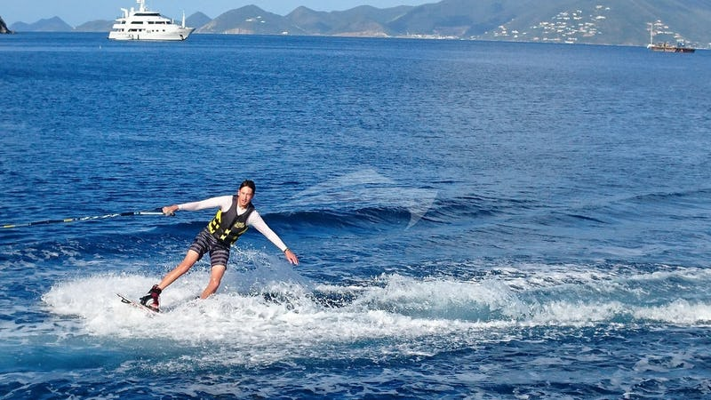 ISLAND TIME :: Wake-boarding !!