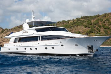 Luxury charter yacht OCEAN CLUB