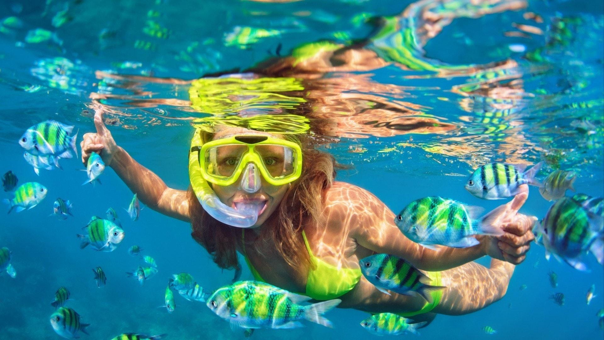 Esportes aquáticos selvagens