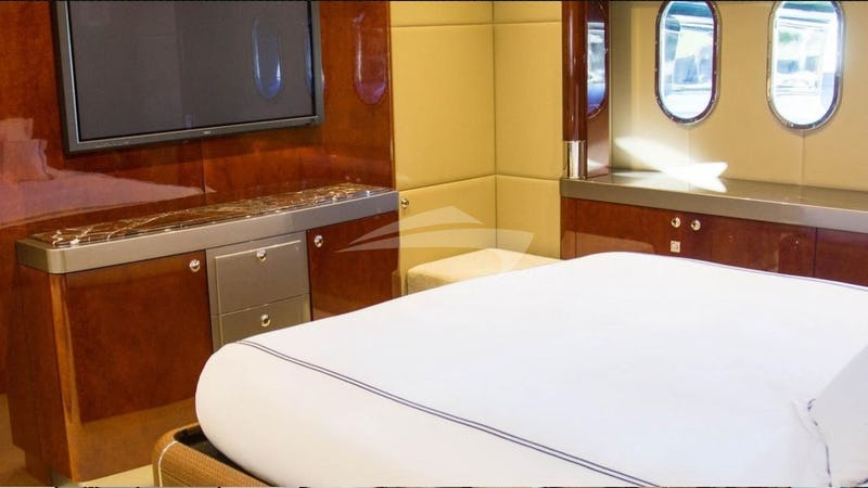 Master Stateroom with TV