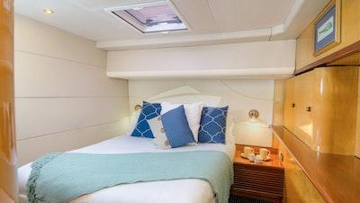 Aft starboard queen guest suite