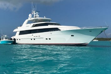 Luxury charter yacht LEGENDARY
