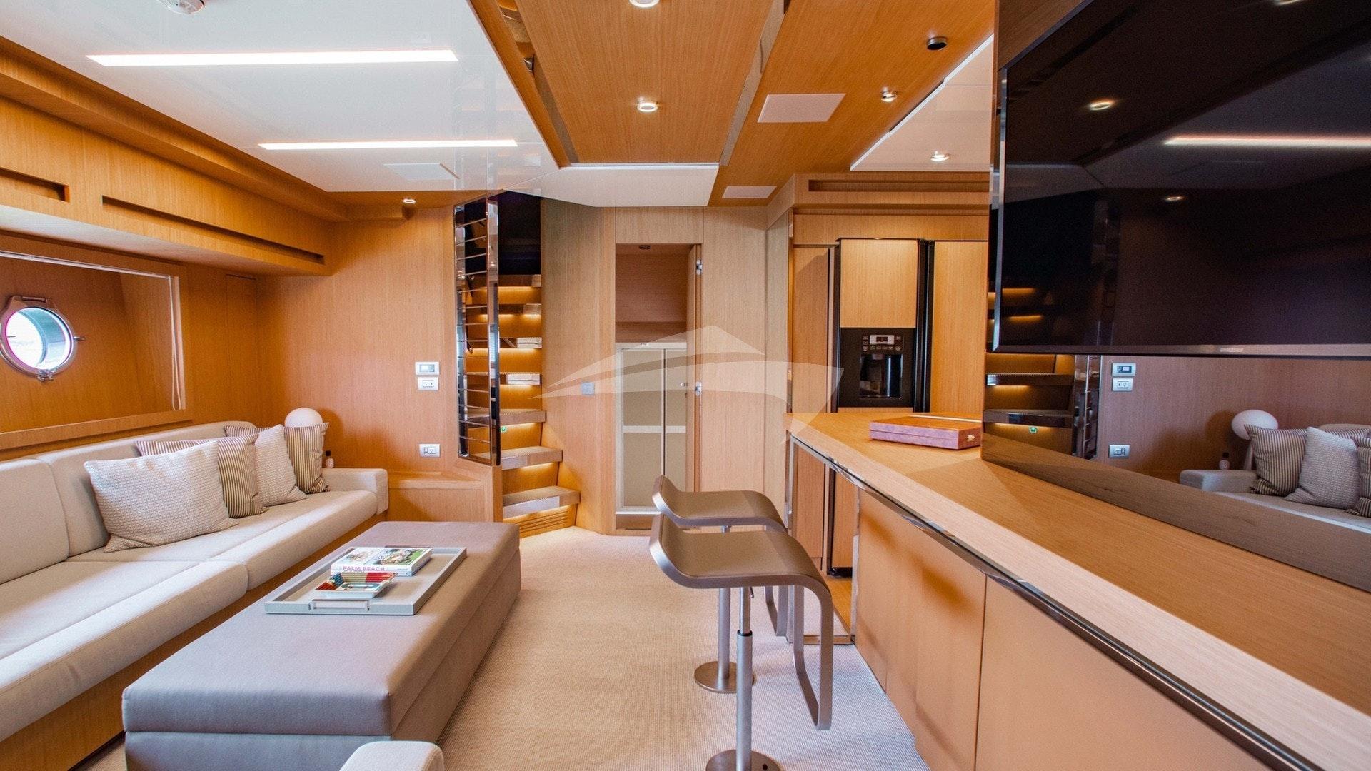 Lower Deck Salon & Galley