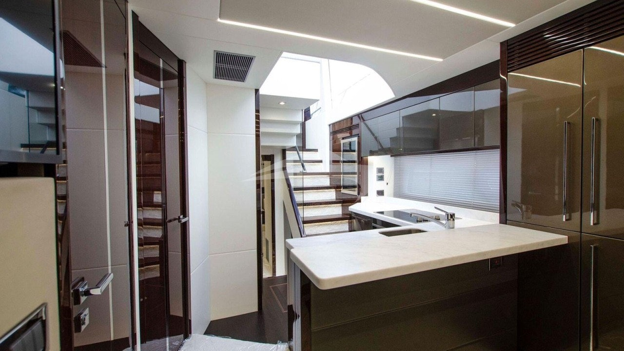 Galley - lower hallway
