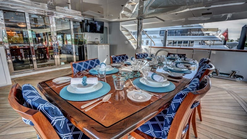 NEVER ENOUGH :: Aft Deck