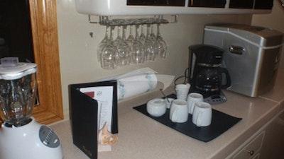 Bar and Coffee station