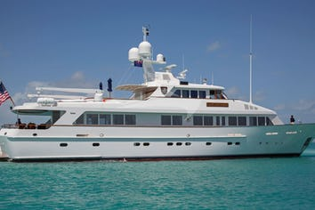Luxury charter yacht LADY VICTORIA