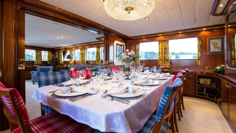STAR OF THE SEA :: Formal Dining