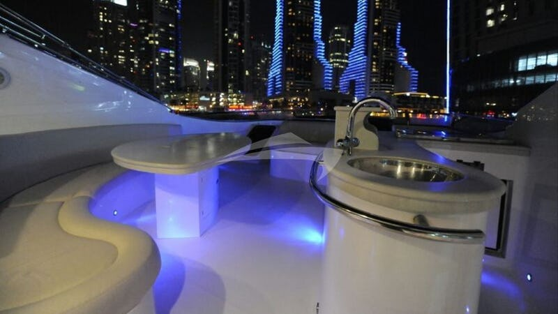 Flybridge at night
