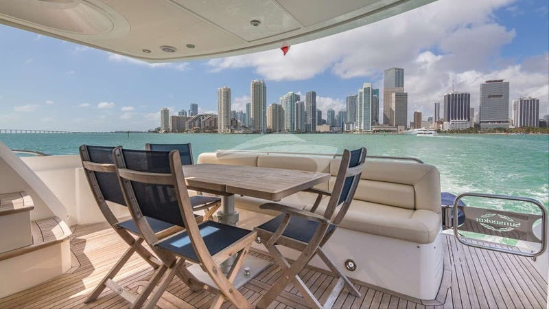 View from Aft Deck
