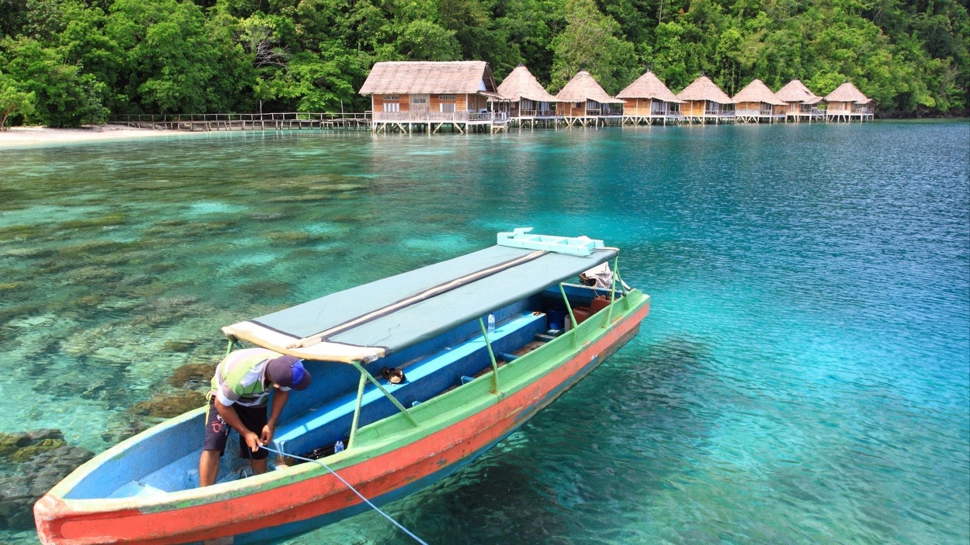 Ora Beach Resort à Seram Island, Maluku central, Indonésie
