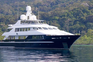 129ft Yacht LADY AZUL