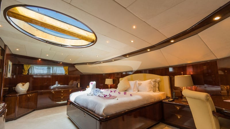 Master Stateroom with Sky Light