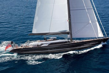 Luxury charter yacht PERSEUS 3