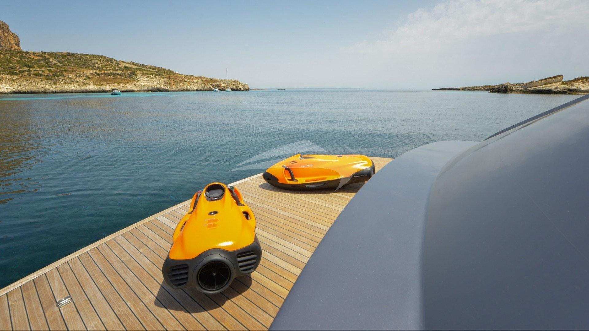 Swim Platform and Sea Bobs