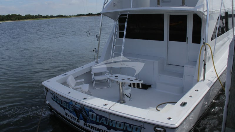 DOUBLE DIAMOND :: Aft Deck