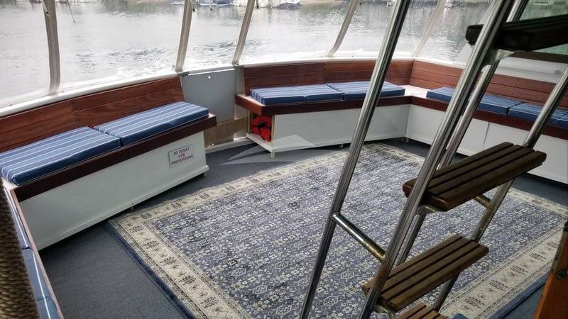 LIBERTY :: Aft Deck Seating